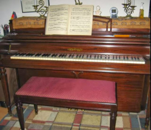 1950 Chickering Console piano